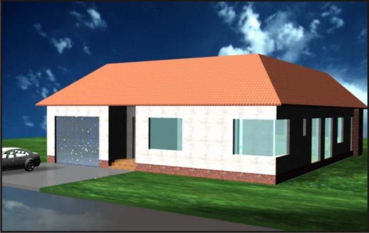 case cu gradina interioara Interior courtyard houses 2