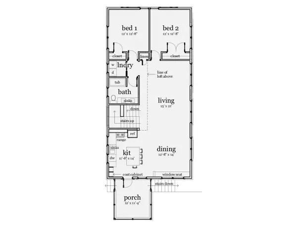 case cu mansarda si garaj subteran Loft houses with underground garage 13