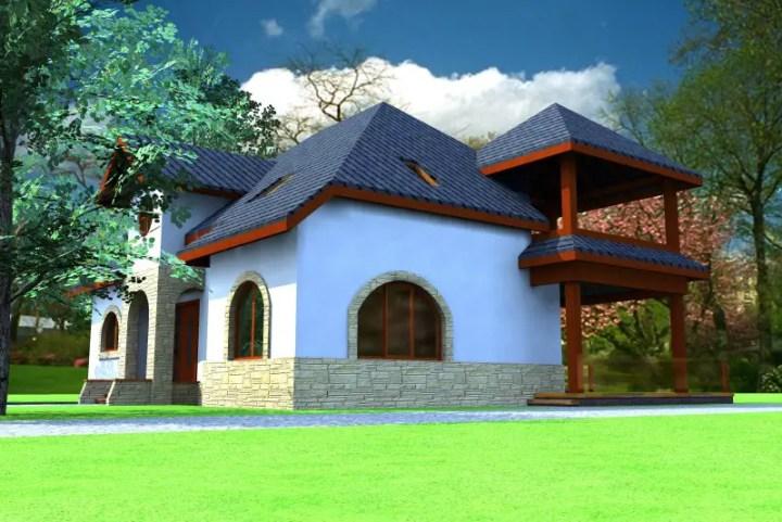 case cu mansarda si garaj subteran Loft houses with underground garage 7