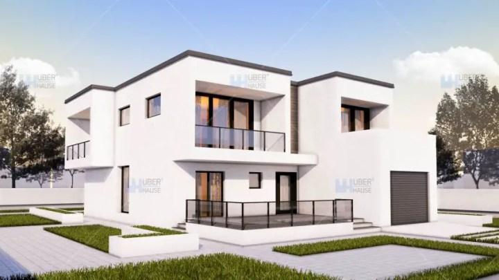 case medii pe doua nivele Medium sized two story house plans 10