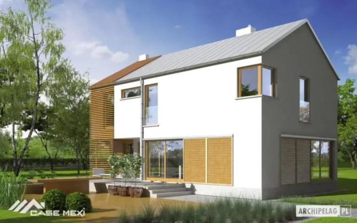 case medii pe doua nivele Medium sized two story house plans 15