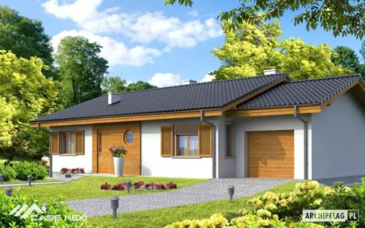 Case mici, cu garaj integrat - spatiu generos