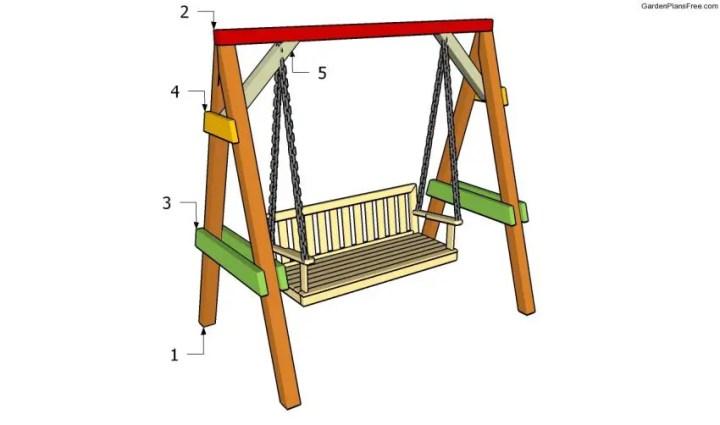 Cum construiesti un leagan de gradina - scurt ghid tehnic, in imagini
