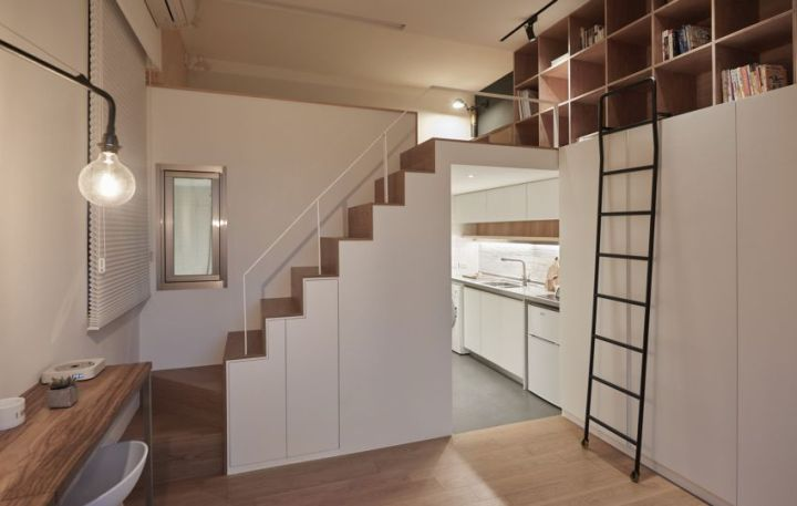 design interior pe 20 de metri patrati Interior design on 22 square meters 7