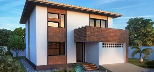 case moderne cu etaj