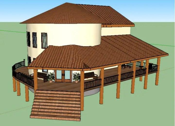 o casa din lut cob house 3