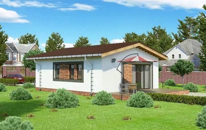 Proiecte de case economice - spatiu ideal pentru o familie mica