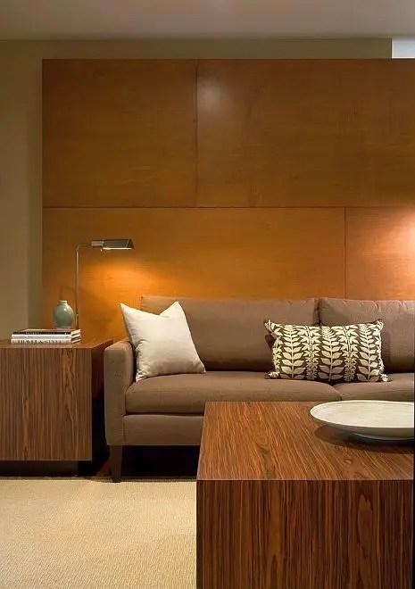 Interioare cu lambriu de lemn wood panel design ideas 15