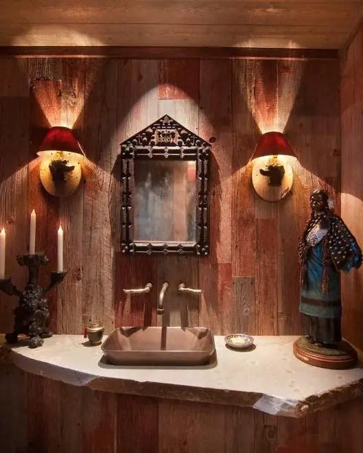 Interioare cu lambriu de lemn wood panel design ideas 4
