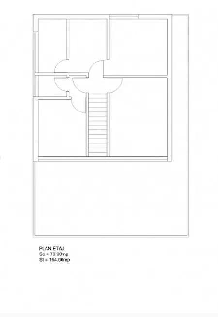case ieftine cu etaj Cheap flat roof house plans 8