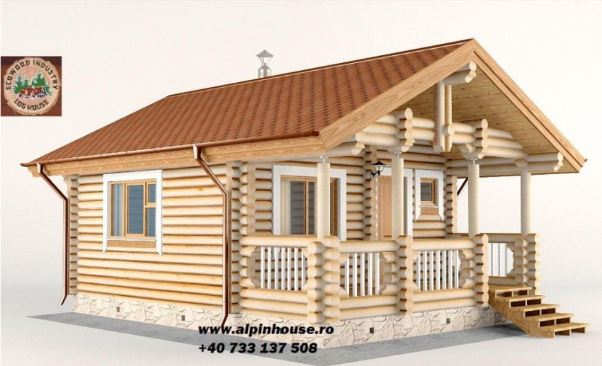 case ieftine din busteni cheap log houses