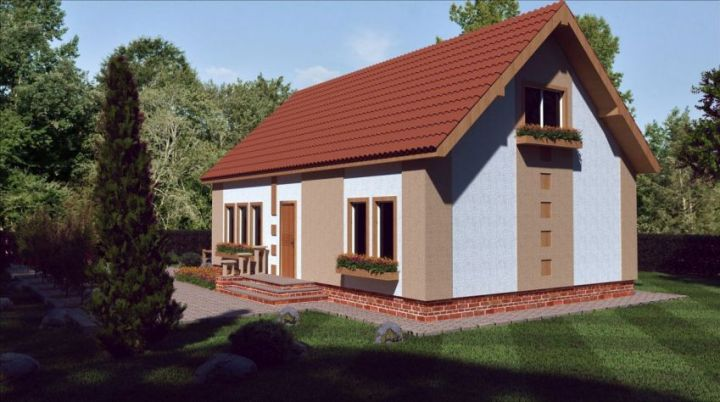 case medii pe doua nivele Medium sized two story house plans 20