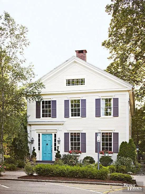10 combinatii de culori pentru exteriorul casei case - Exterior house color scheme generator ...
