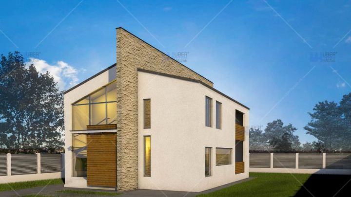 proiecte de case cu semineu House plans with fireplaces 2