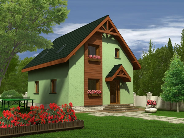 Proiecte de case cu trei dormitoare spatiu suficient case practice - Best house plans for a family of four ...