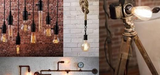 Corpuri de iluminat cu becuri Edison