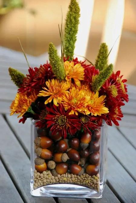 decoratiuni din ghinde si castane Acord and chestnut crafts 12