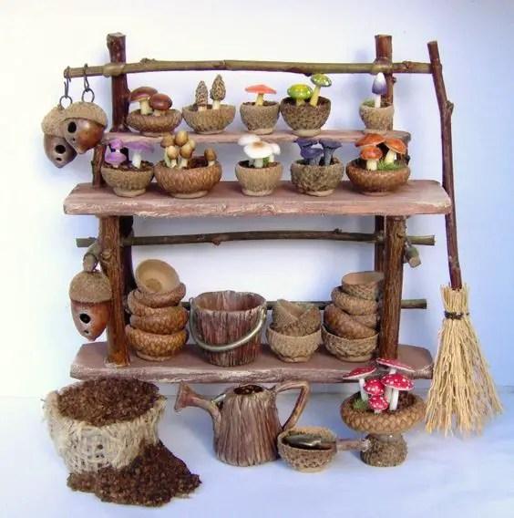 decoratiuni din ghinde si castane Acord and chestnut crafts 9
