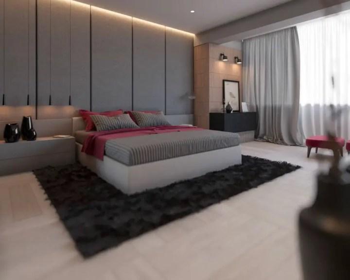 dormitoare in gri grey bedrooms 2