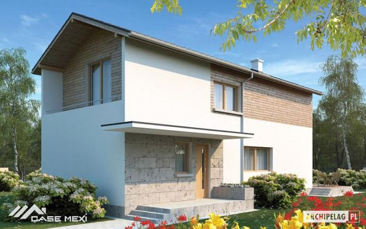 proiecte de case moderne cu etaj Modern two story house plans 1