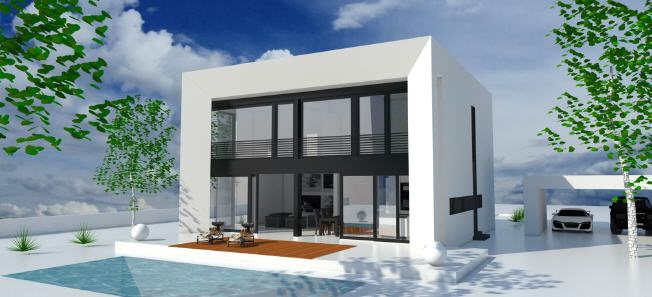 proiecte de case cubice casa creon spate