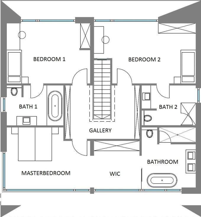 casa cubica creon plan etaj