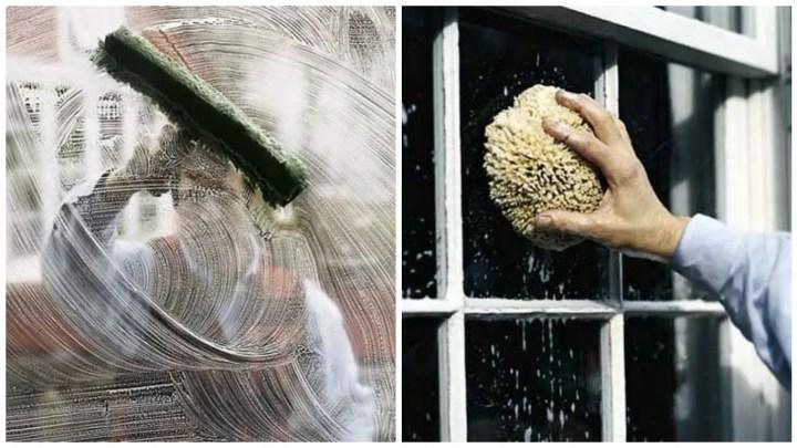 trucuri pentru curatarea geamurilor spalat