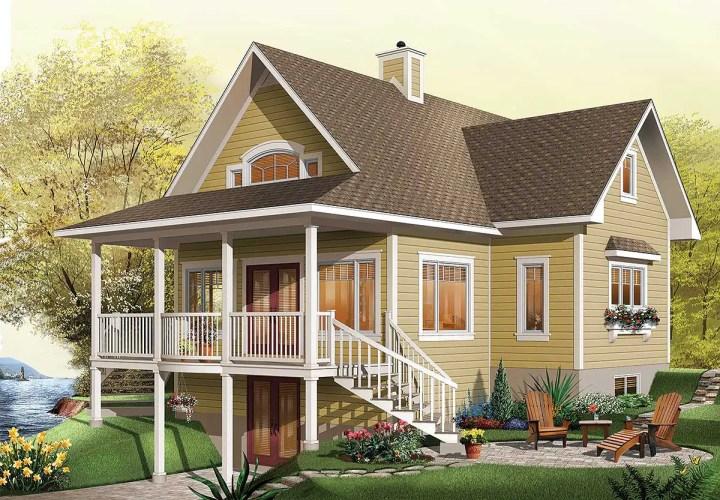 case de vis pe terenuri mici 1