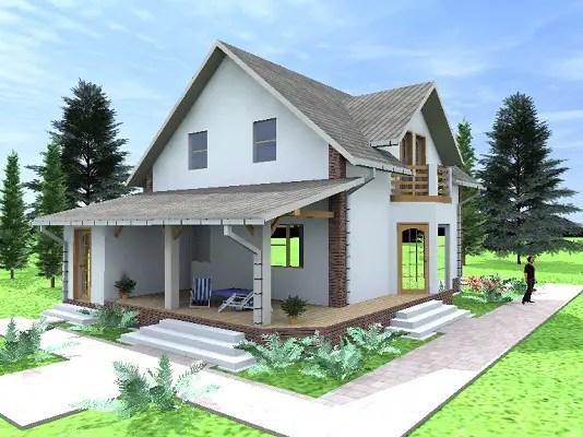 case mici din lemn si OSB 3