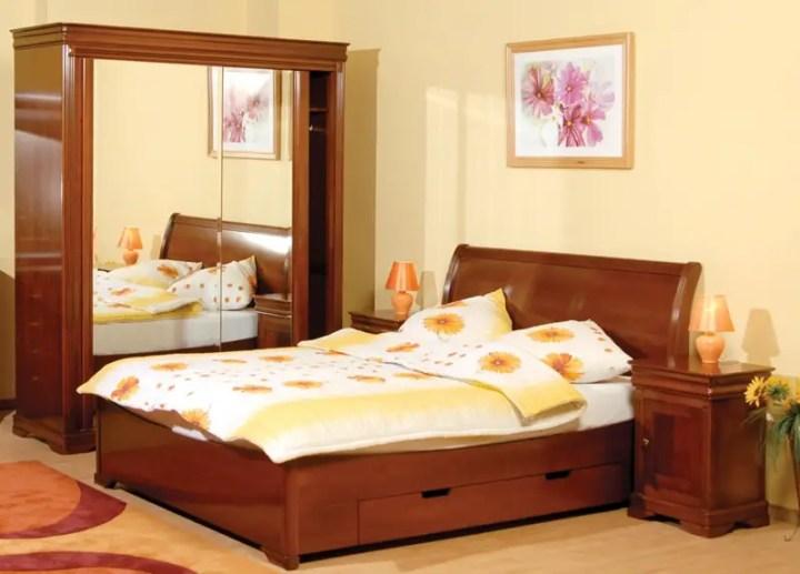 mobilier din lemn masiv pentru dormitor 1