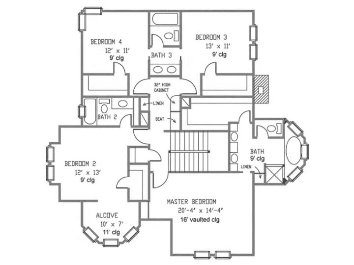 modele de case cu cerdac 2 plan mansarda