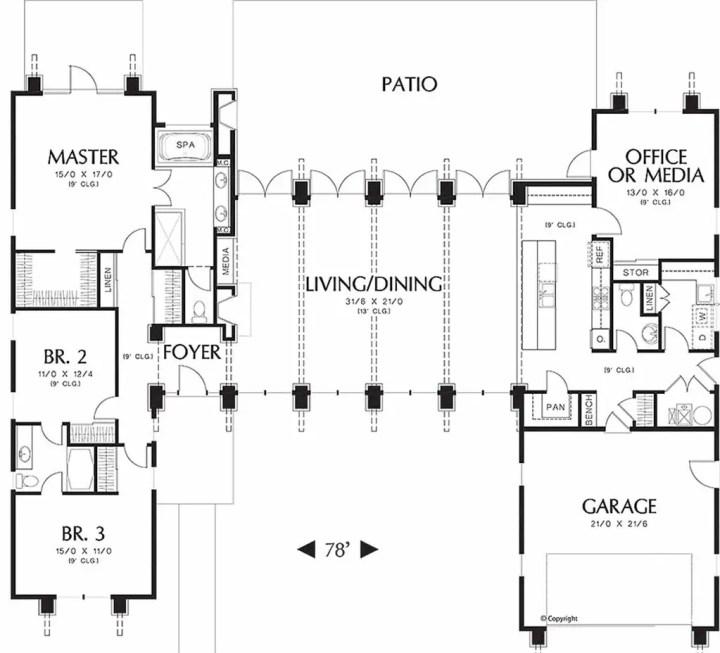 proiecte de case cu 5 camere 2 plan