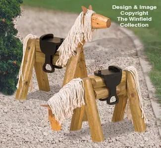 decoratiuni pentru exteriorul casei cai