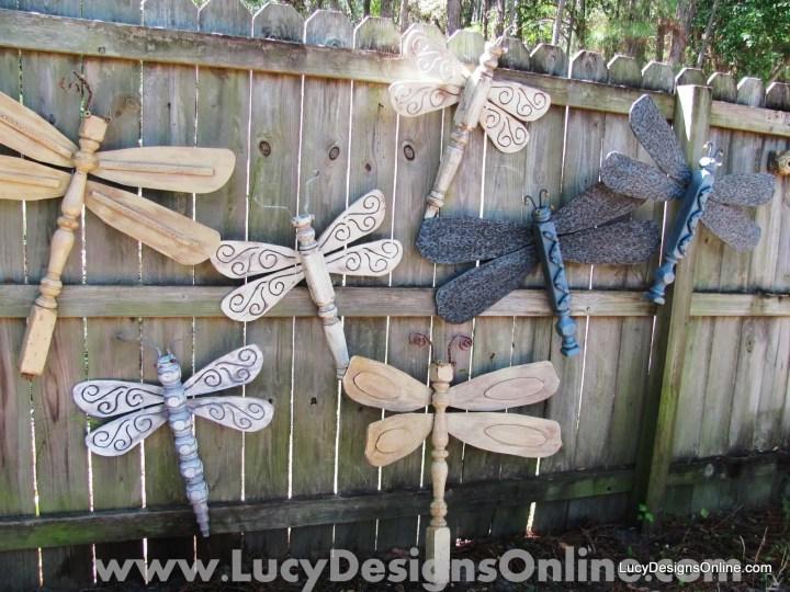 decoratiuni pentru exteriorul casei libelule 1