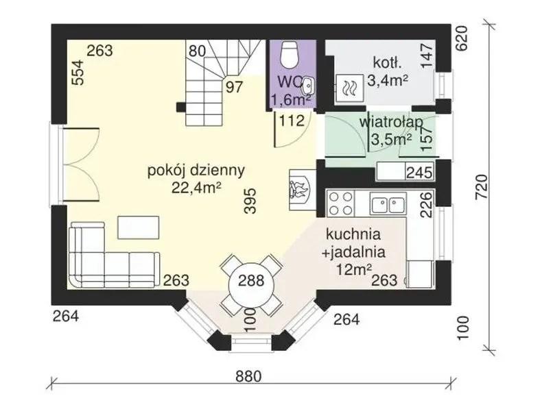 Case cu 3 camere cele mai potrivite locuinte pentru o for Case parter 3 camere
