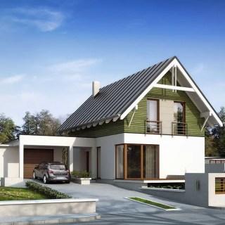 case cu intrare laterala