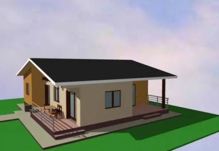 case mici cu acoperis in doua ape