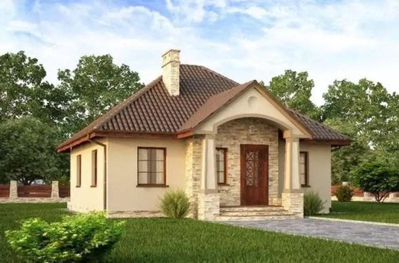Case mici si ieftine din caramida frumoase durabile si for Modele de case mici