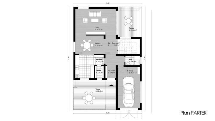 case de vis cu 3 dormitoare