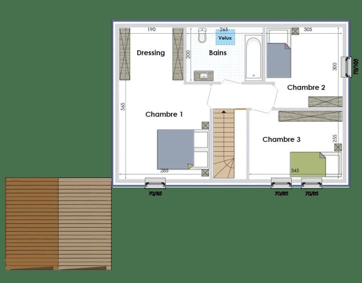 case mici in stil belgian
