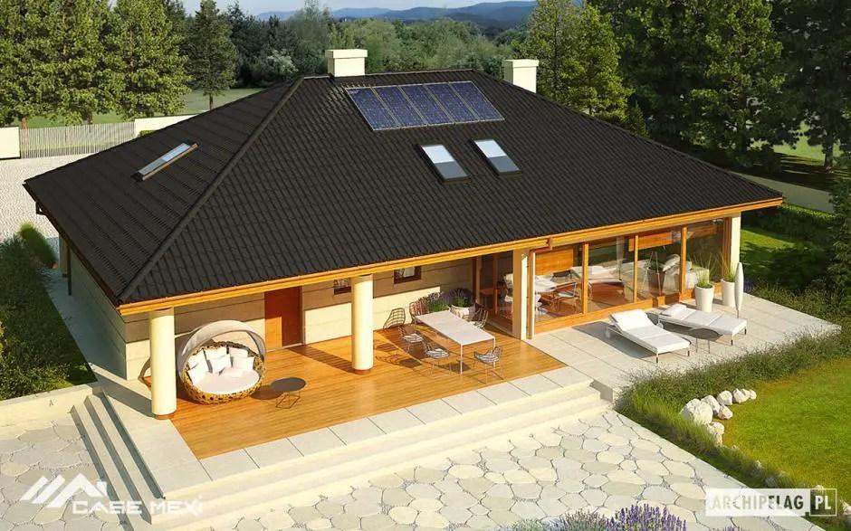 Modele de case continuate cu terasa bucurati va cu for Modele case cu terase acoperite