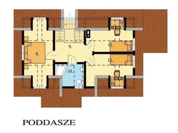 case cu mansarda pentru familii cu 2 copii