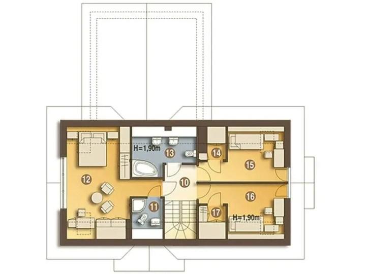 case mansardate cu scara interioara