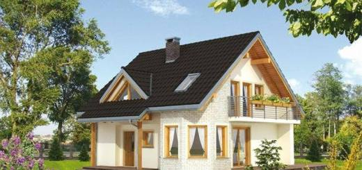 case mansardate pentru familii cu 2 copii