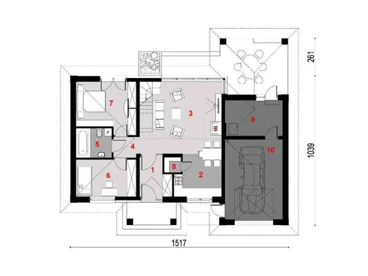 modele de case decorate cu piatra
