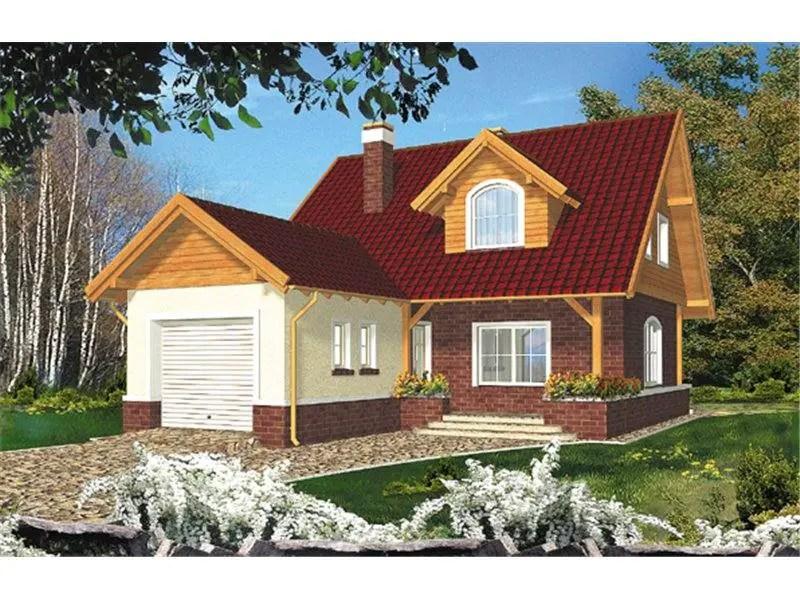 case cu 2 dormitoare si garaj