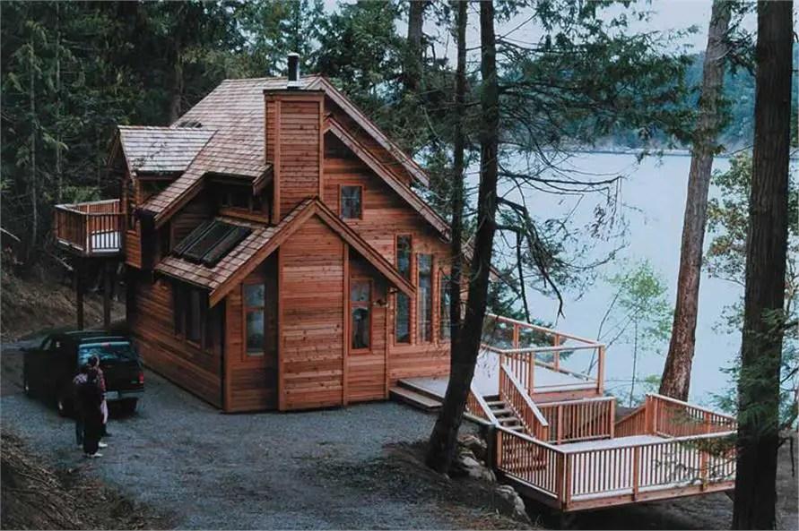 case de vacanta din lemn