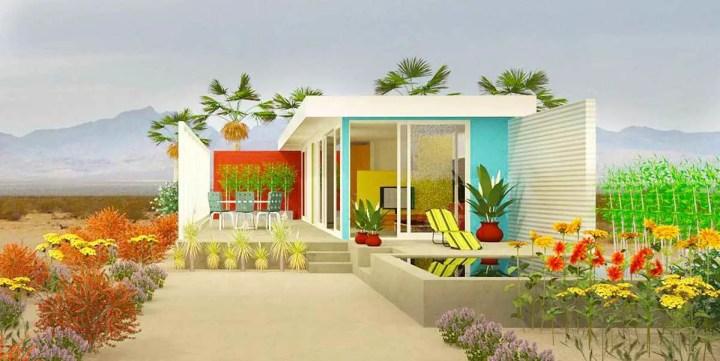 case mici pe plaja