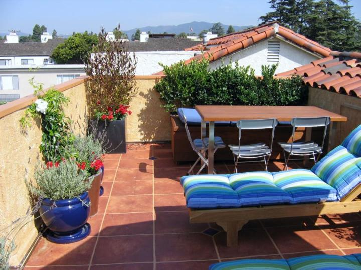 terase in stil mediteranean
