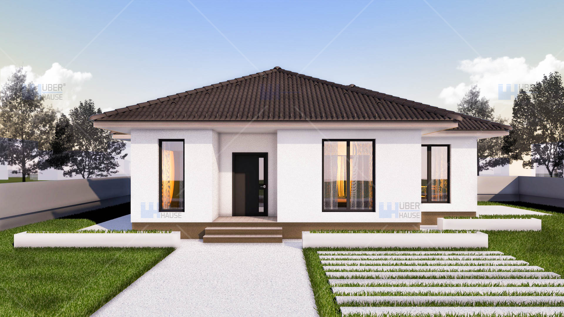 Modele moderne de case de vacanta pentru toate buzunarele for Case parter